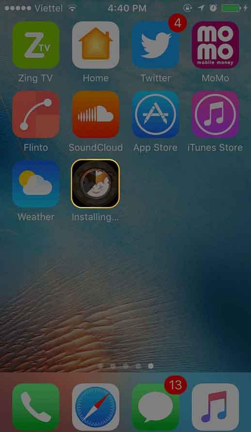 langkah download aplikasi ios