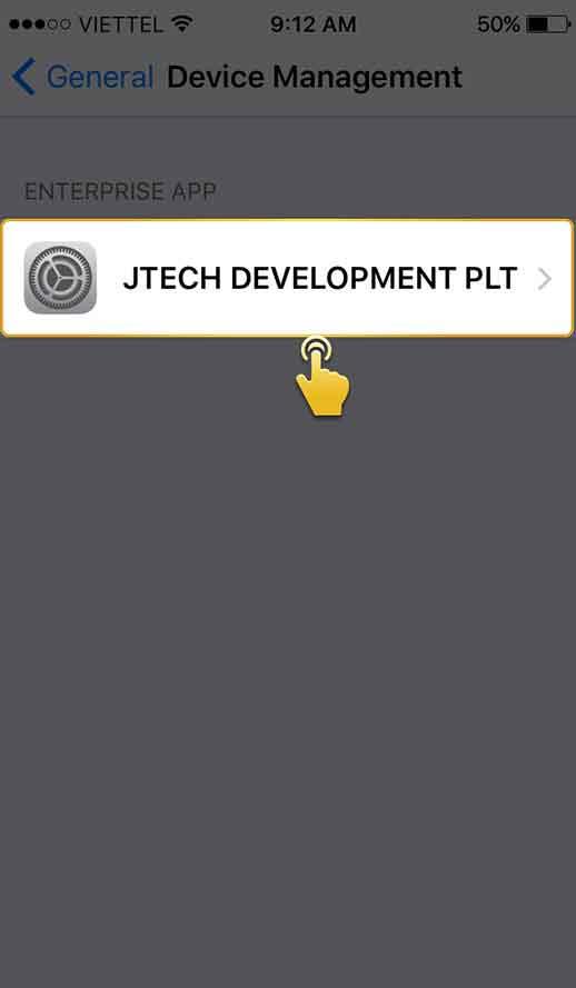 langkah 4 download aplikasi ios