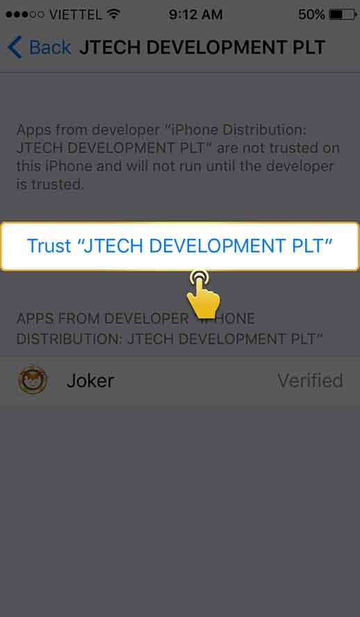 langkah 5 download aplikasi ios