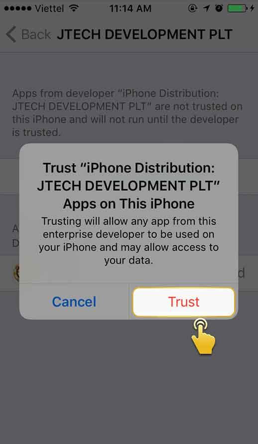 langkah 6 download aplikasi ios