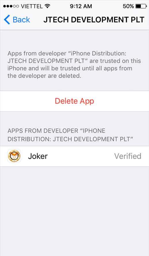 langkah 7 download aplikasi ios
