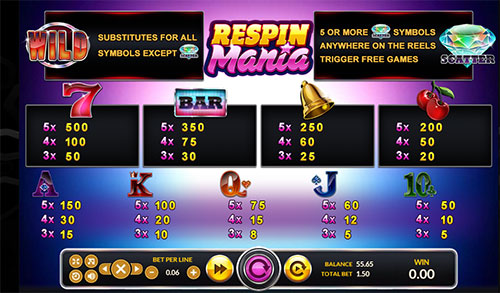 Line-Jackpot-Respin-Mania